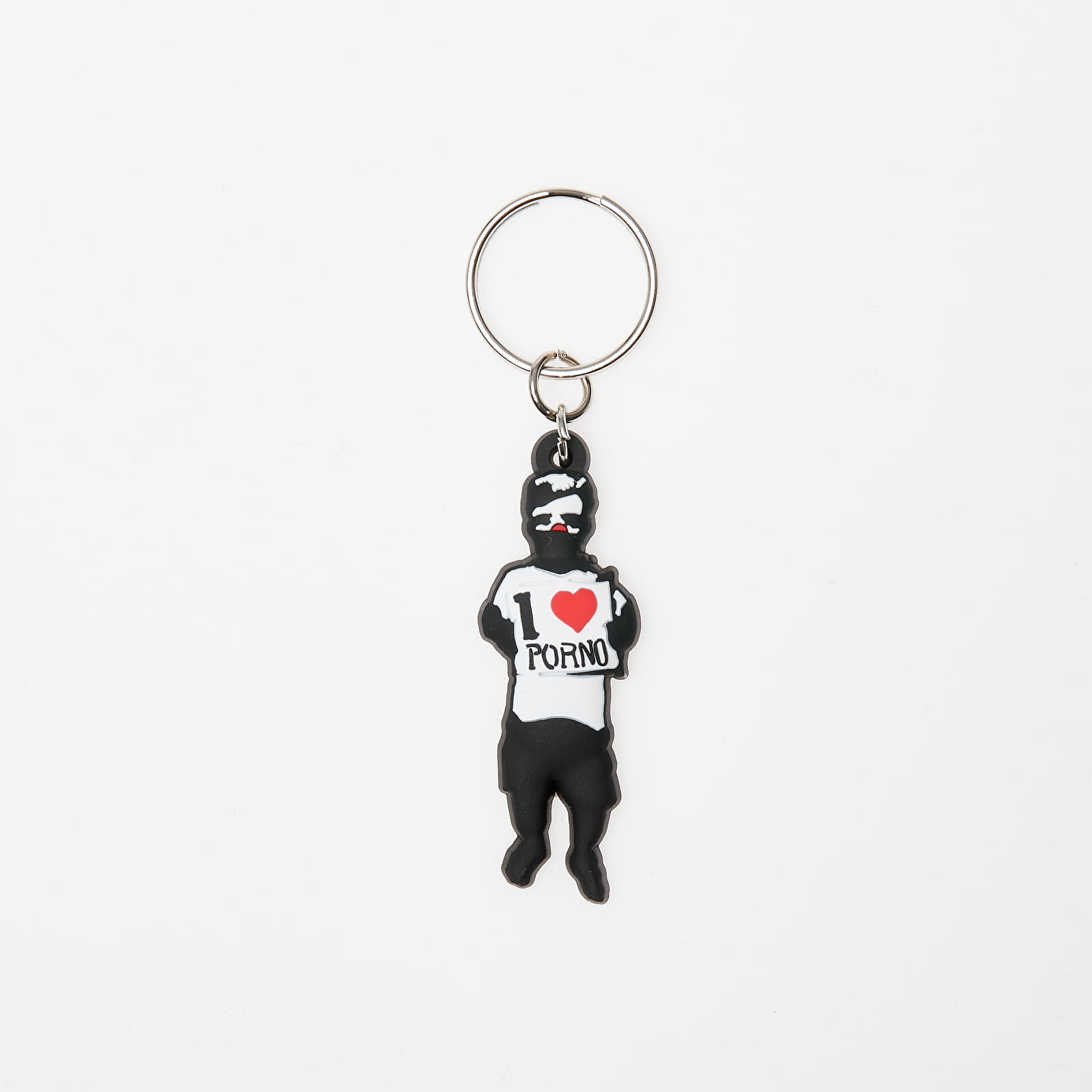 Weitere Accessoires LIFE IS PORNO Keychain Rumpel Multicolor