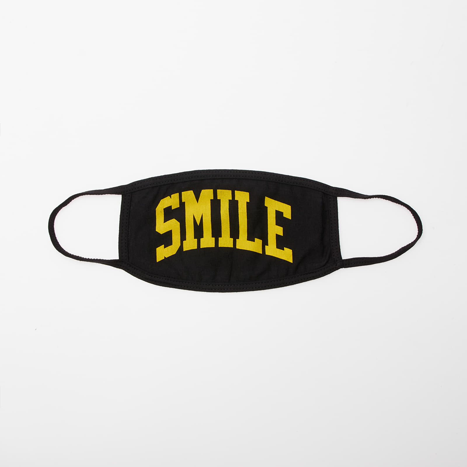 Dodaci Chinatown Market Smile Face Mask Black