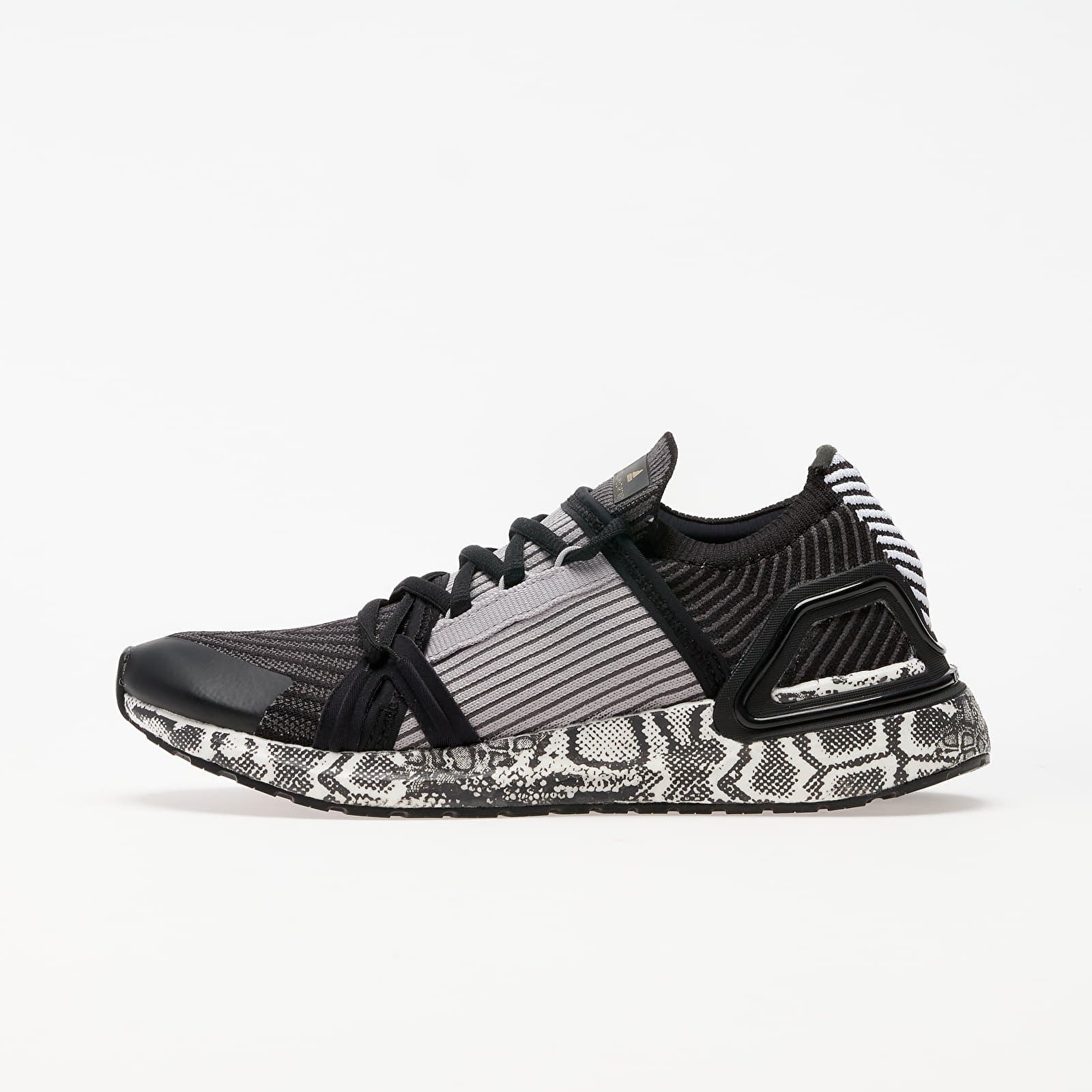 Women's shoes adidas x Stella McCartney UltraBOOST 20 Black White/ Black White/ Dg Solid Grey