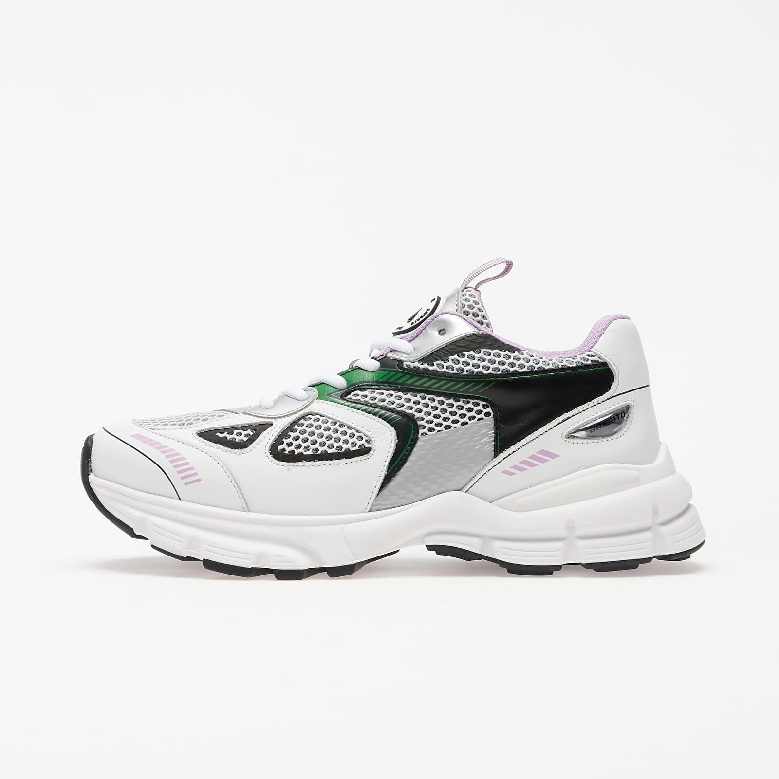 Dámské tenisky a boty Axel Arigato Marathon Runner White/ Black/ Green