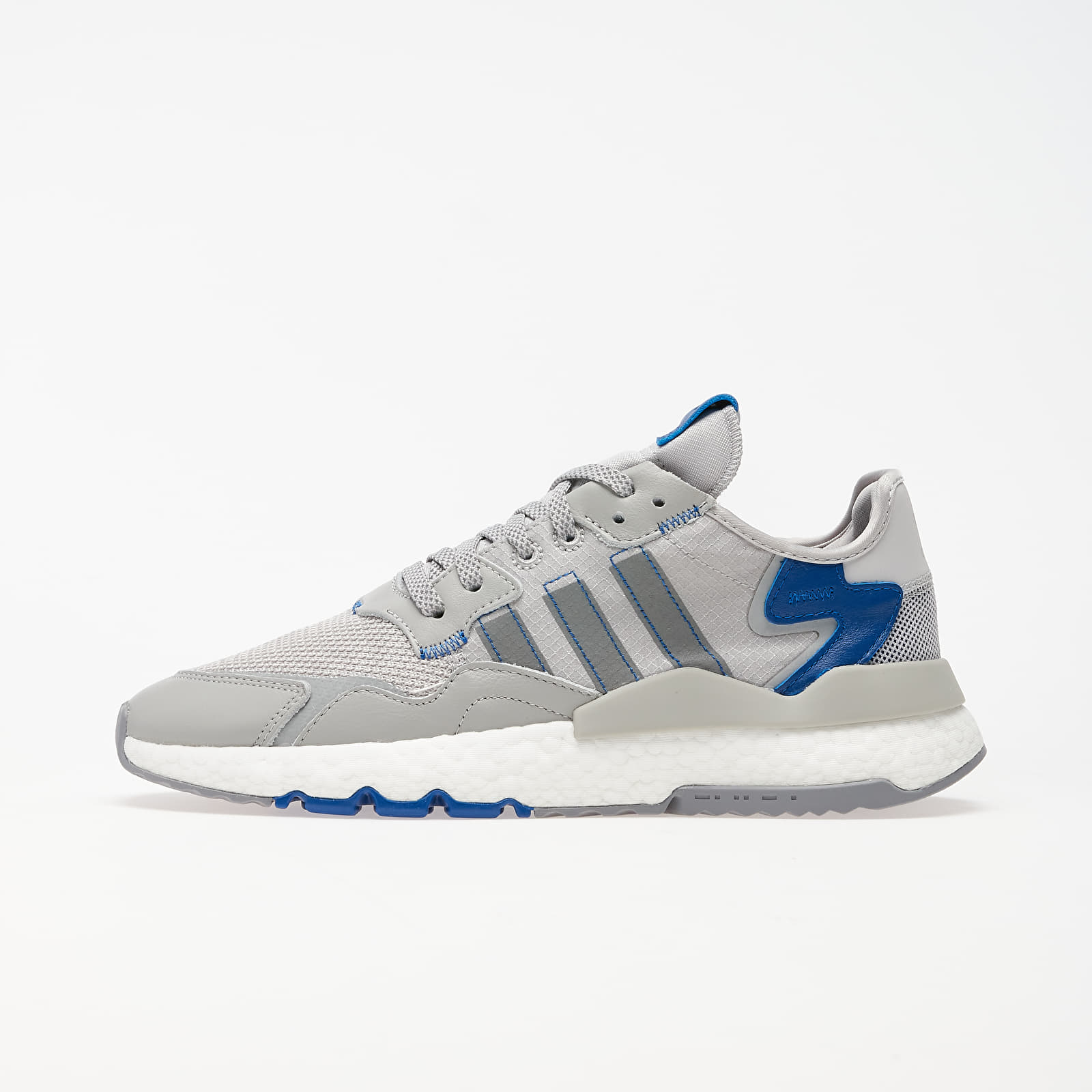 Men's shoes adidas Nite Jogger Grey Two/ Grey Three/ Collegiate Royal