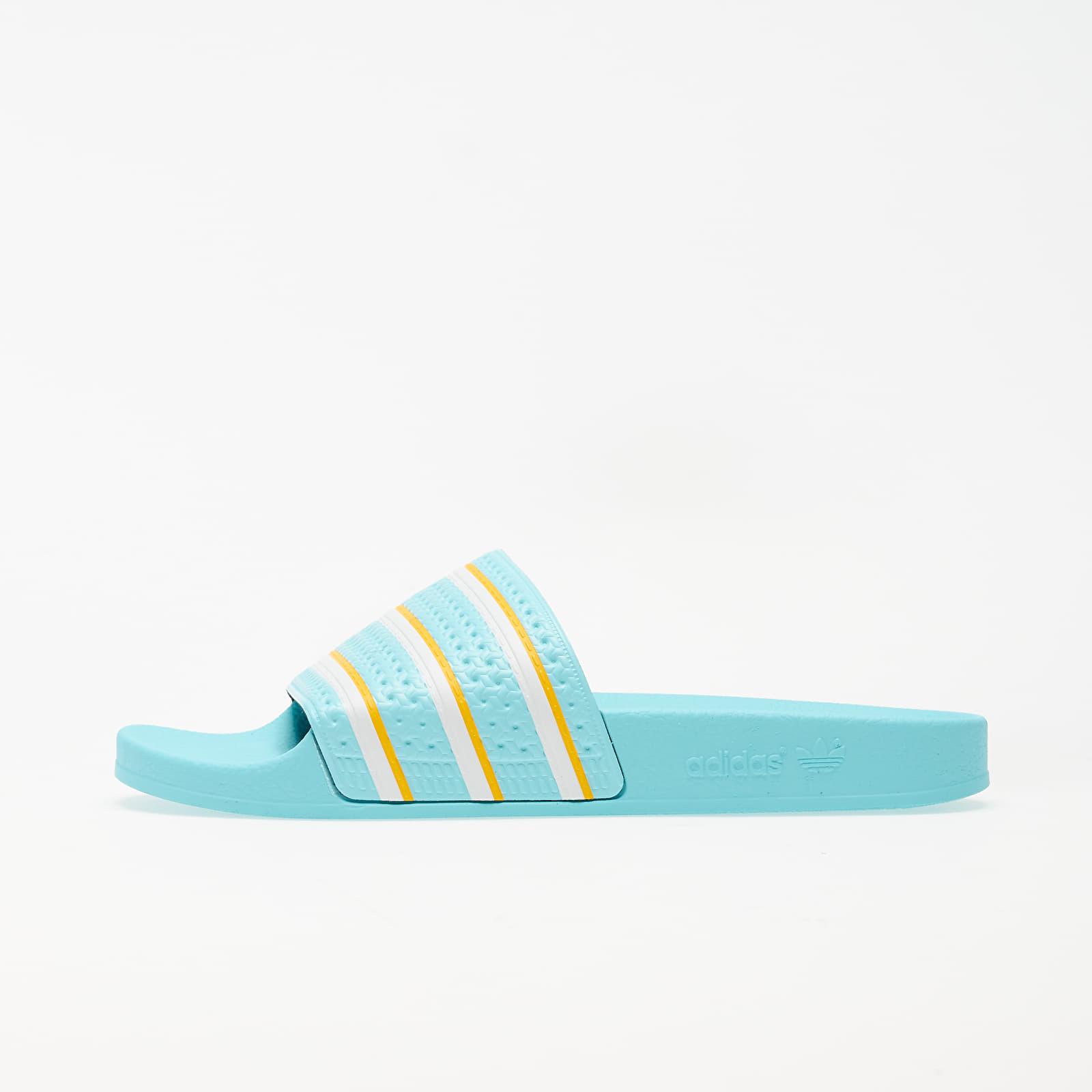 Pánské tenisky a boty adidas Adilette Blue Zest/ Ftwr White/ Wonder Glow
