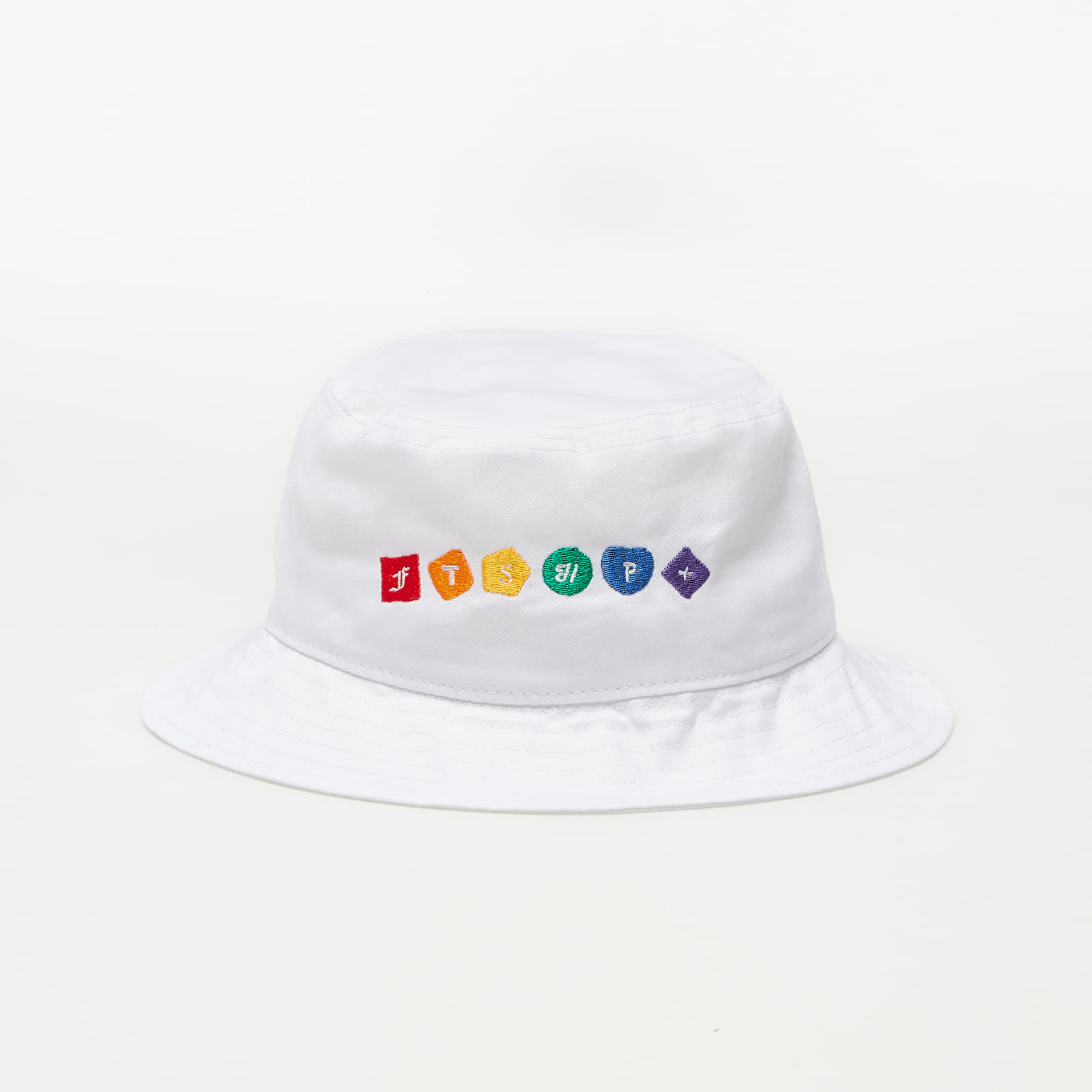 Klobouky Footshop PRIDE Bucket Hat White