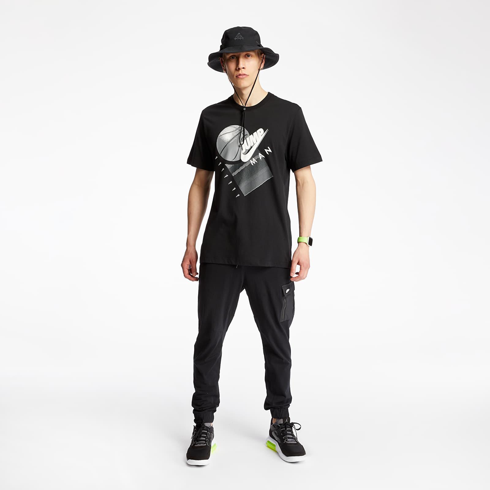 T-shirts Jordan Jumpman Basketball Tee Black/ White
