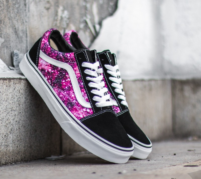 Vans Old Skool Cosmic Cloud Black True White  b4dacd6cf2