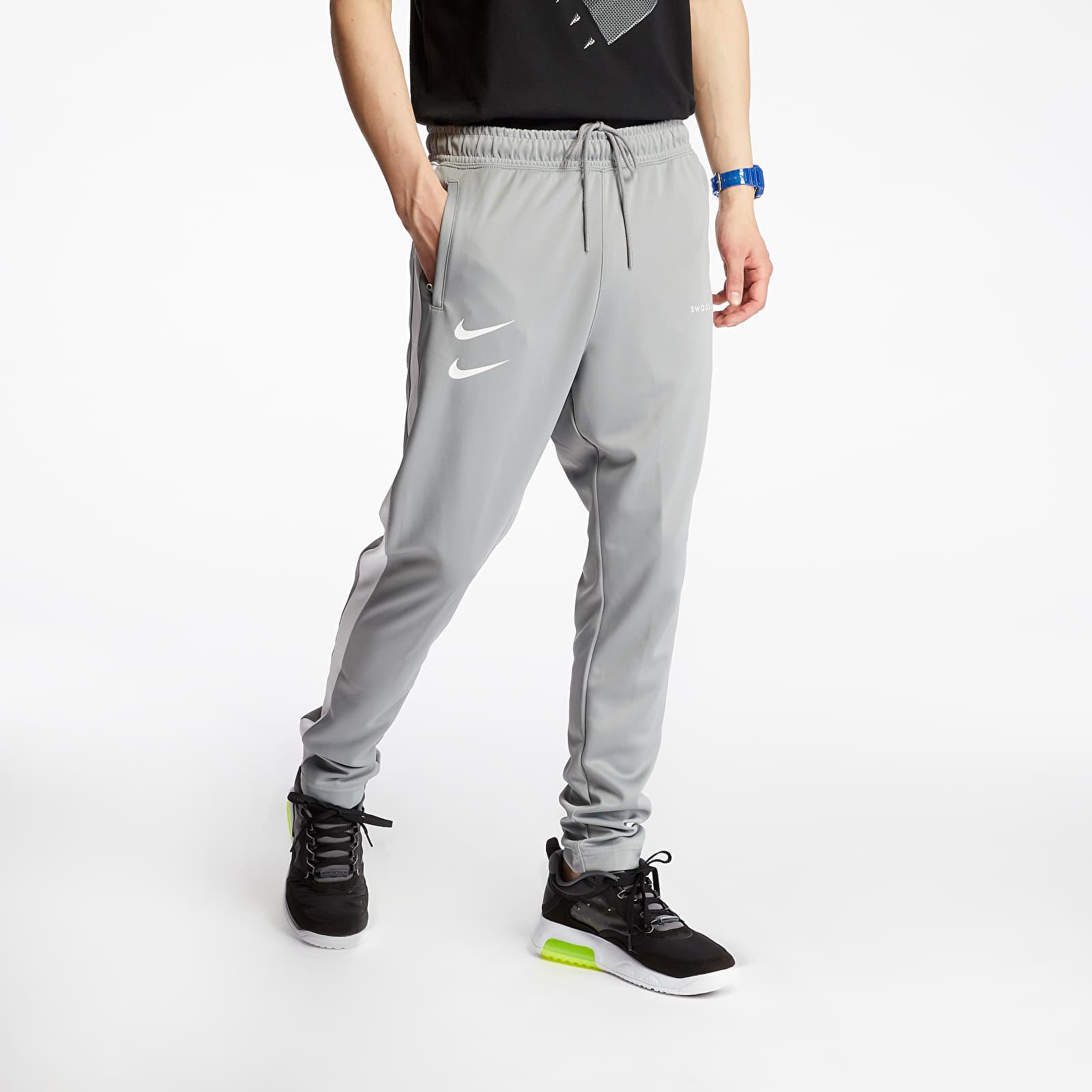 Pants and jeans Nike Sportswear Swoosh PK Pants Particle Grey/ White/ Black/ White