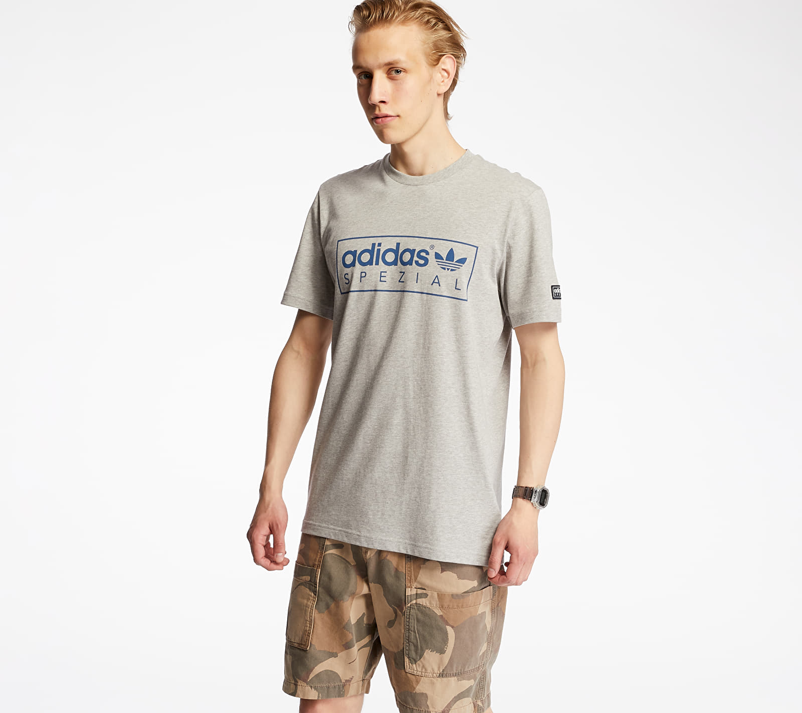 adidas McLoughlin Tee Grey, Gray