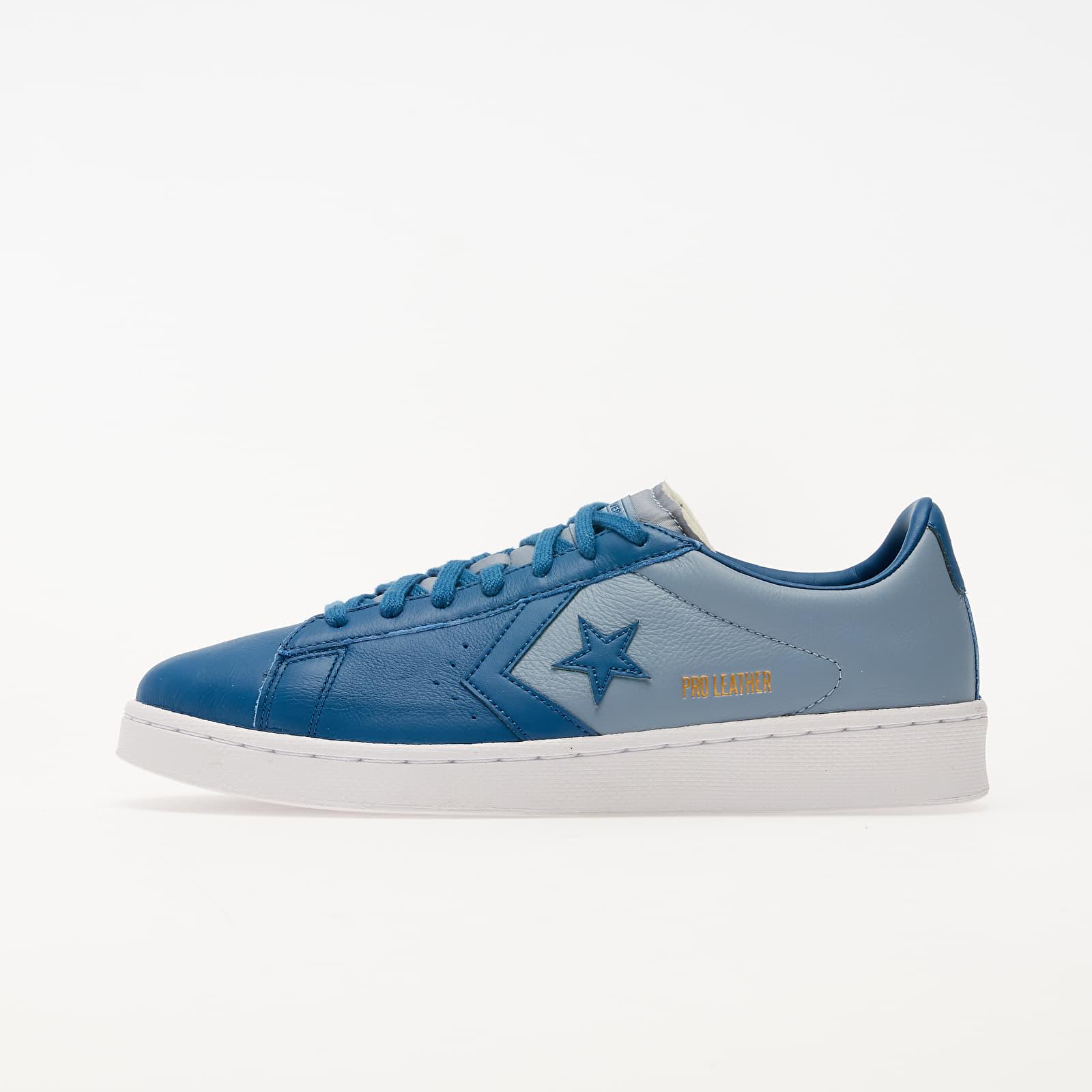 Pánské tenisky a boty Converse Pro Leather OX Court Blue/ Blue Slate/ White