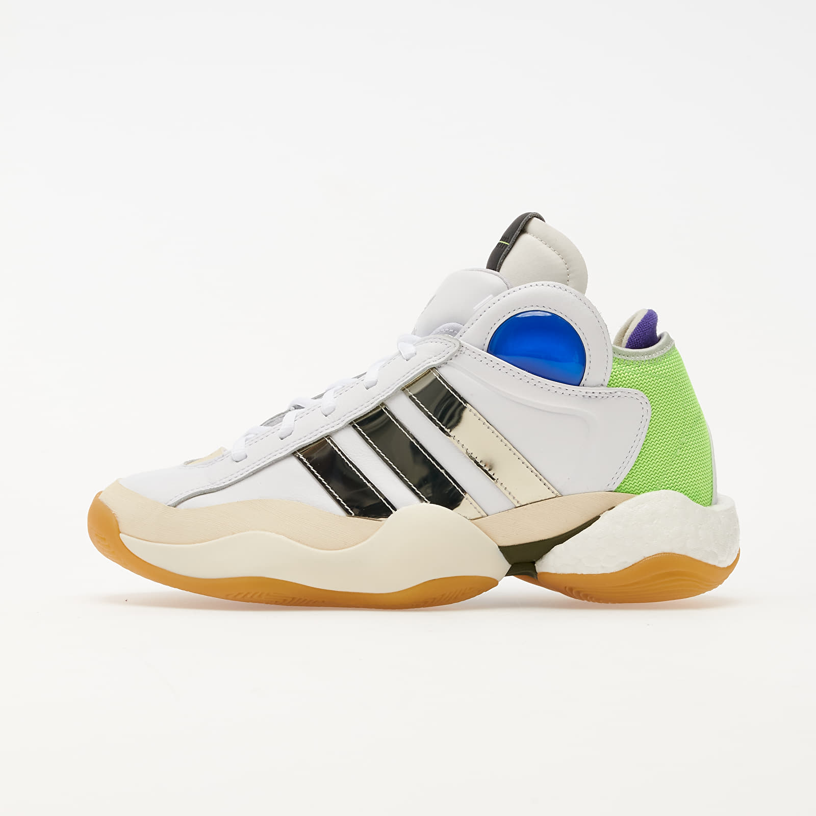 Pánské tenisky a boty adidas x Sankuanz Crazy BYW Ftwr White/ Silver Met./ Gum 3