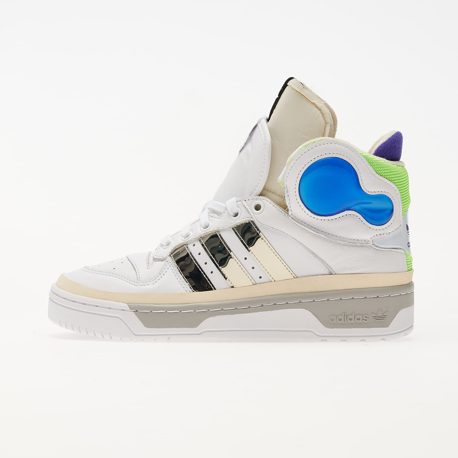 Men's shoes adidas x Sankuanz Rivalry Hi Ftwr White/ Silver Met./ Ftwr White
