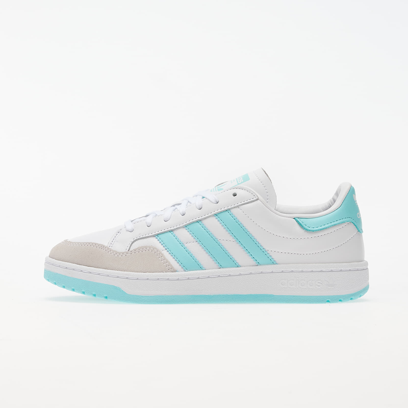 Frauen adidas Team Court W Ftw White/ Clear Aqua/ Core Black