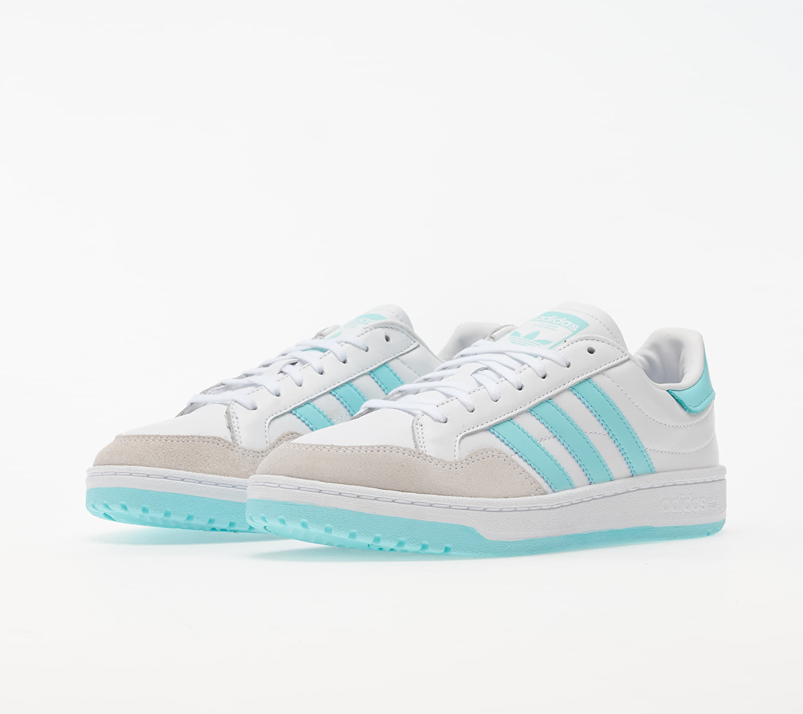 adidas Team Court W Ftw White/ Clear Aqua/ Core Black EUR 40 2/3