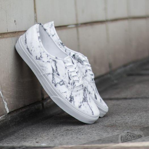Vans Authentic Marble True White
