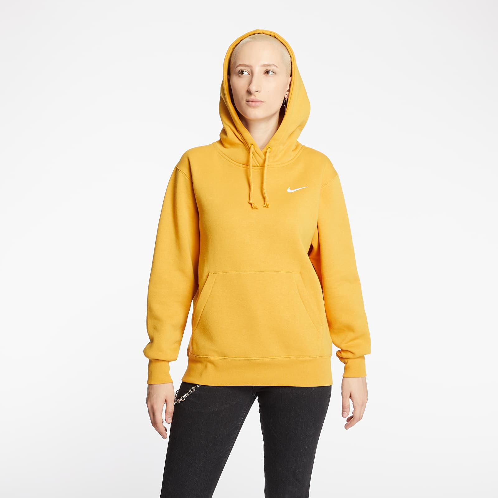 Sweatshirts Nike Sportswear Fleece Trend Hoodie Pollen Rise/ White