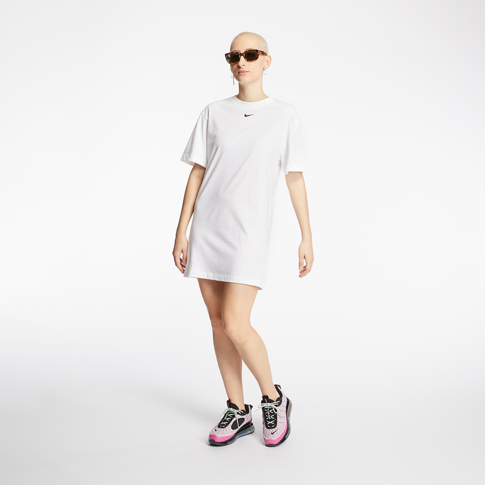 Šaty Nike Sportswear Essential Dress White/ Black