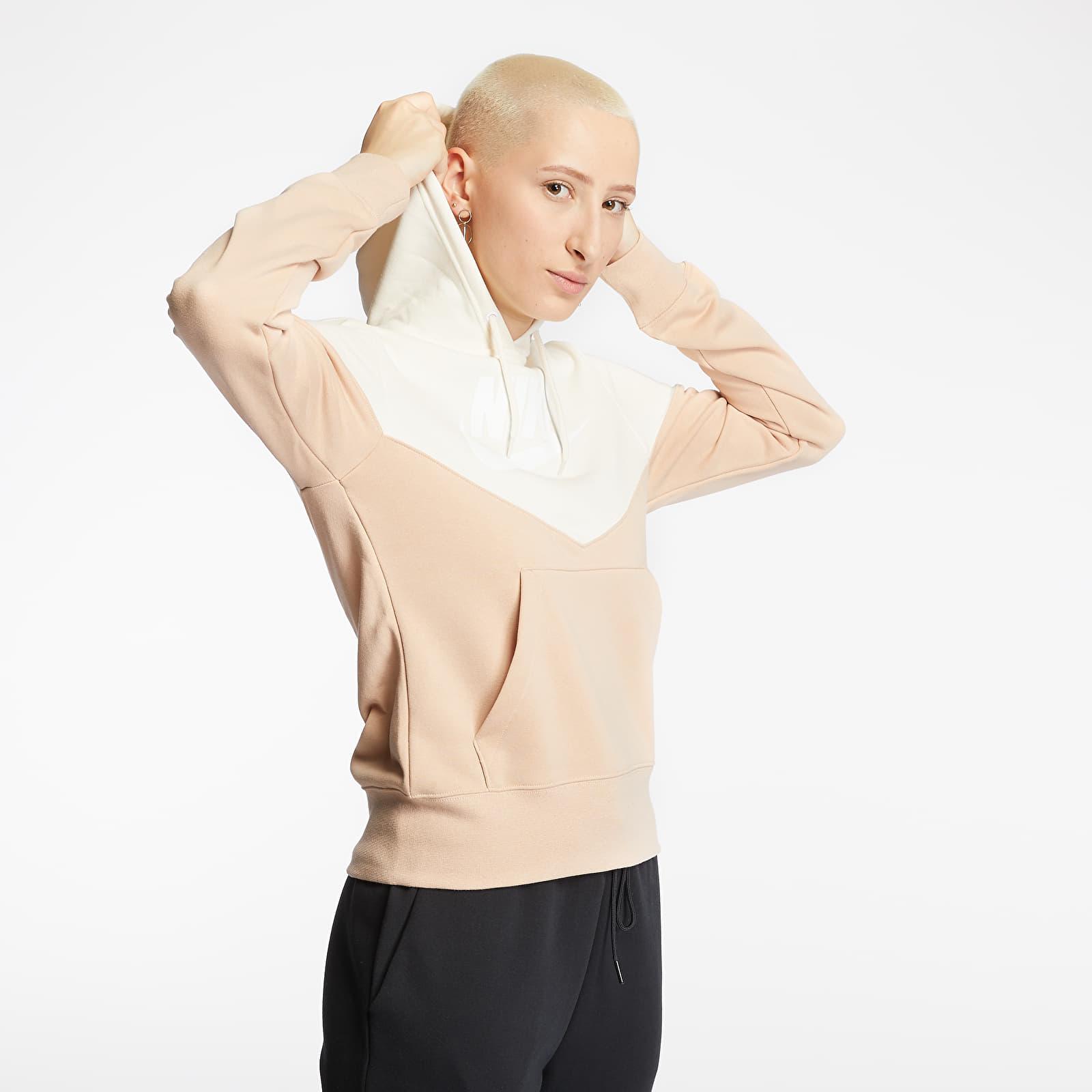 Sweatshirts Nike Sportswear Heritage Hoodie Shimmer/ Pale Ivory/ White