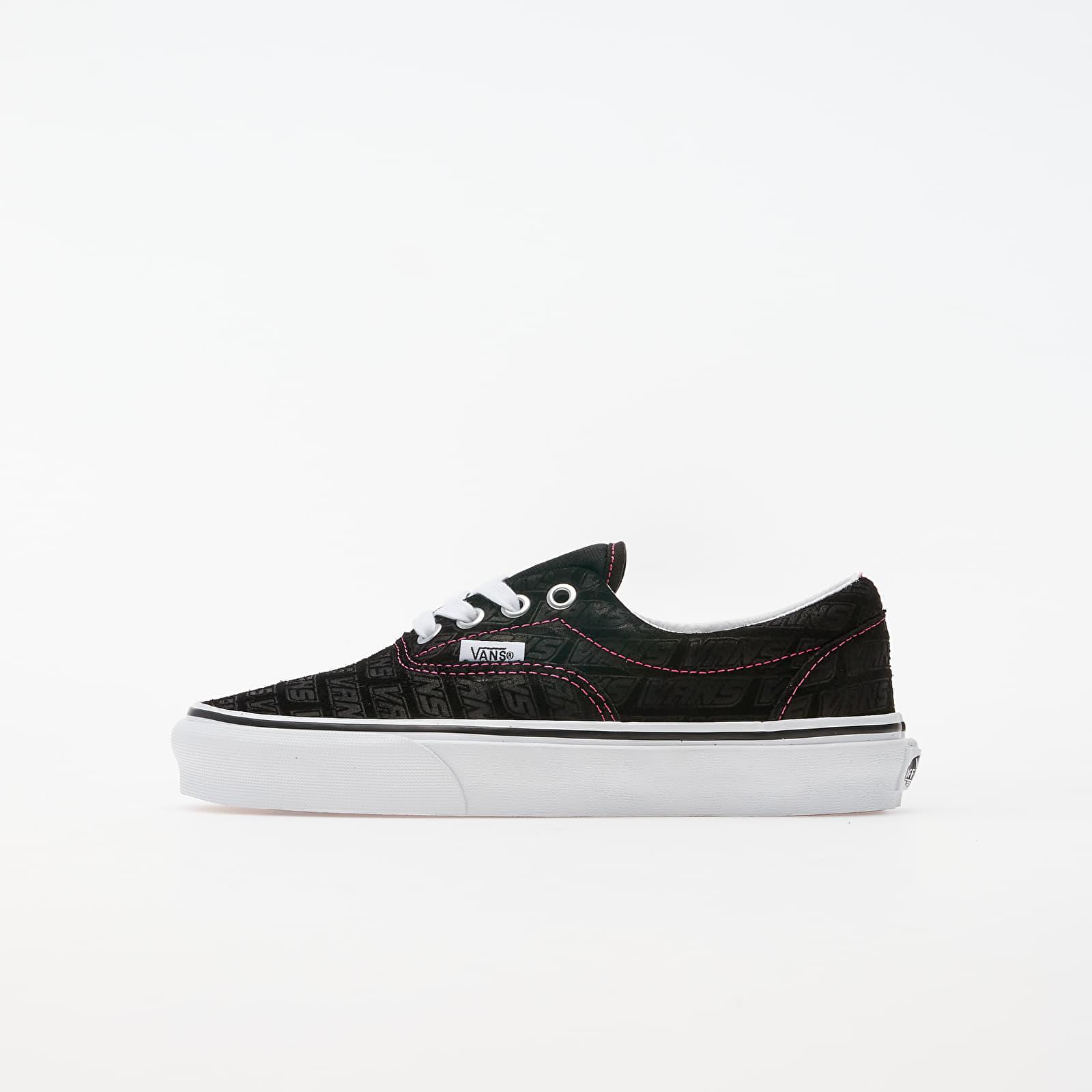 Férfi cipők Vans Era (Vans Emboss) Black/ True White
