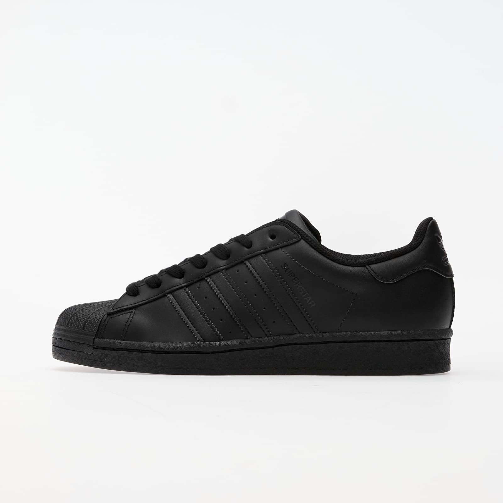 Pánske tenisky a topánky adidas Superstar Core Black/ Core Black/ Core Black