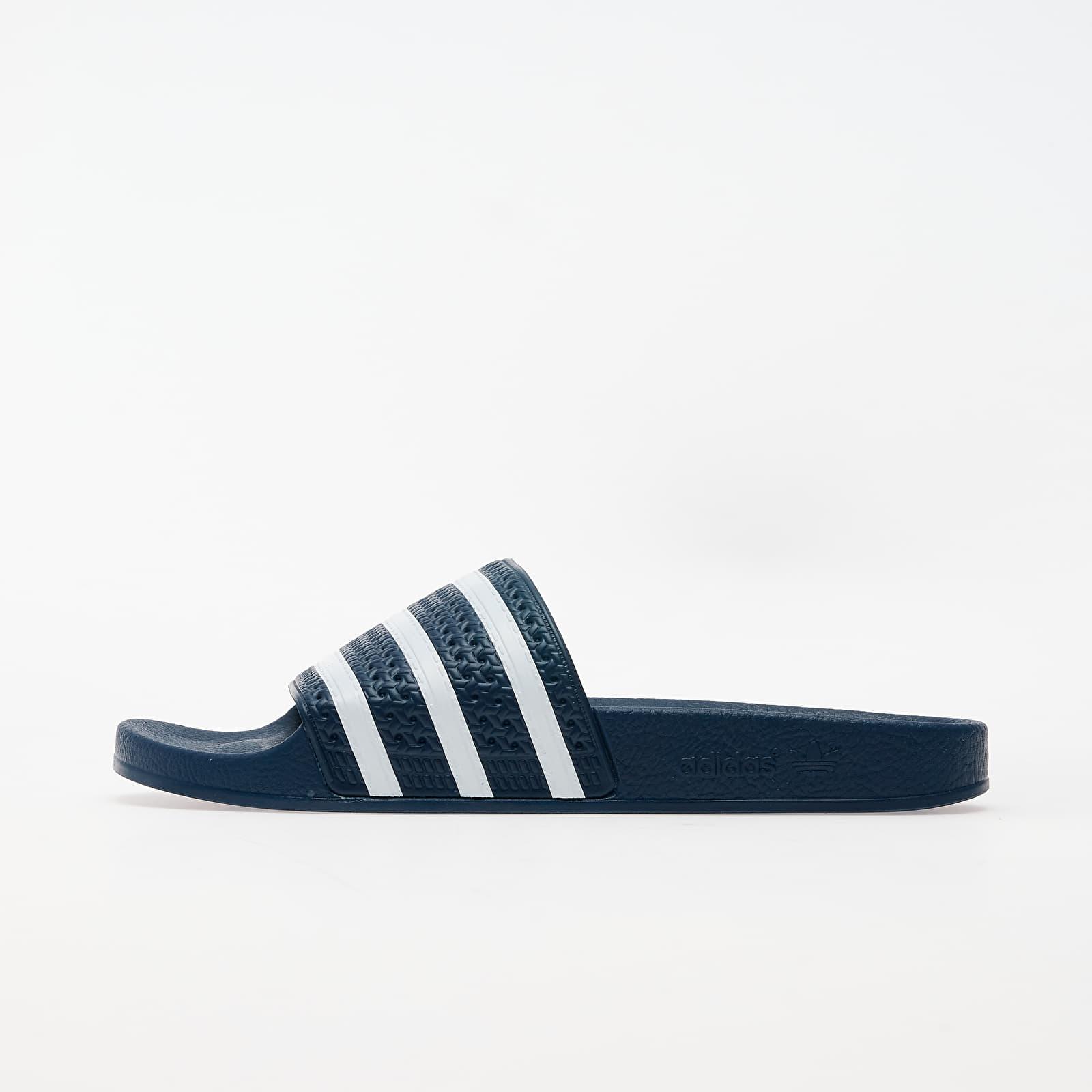 Zapatillas Hombre adidas Adilette Adi Blue/ White/ Adi Blue