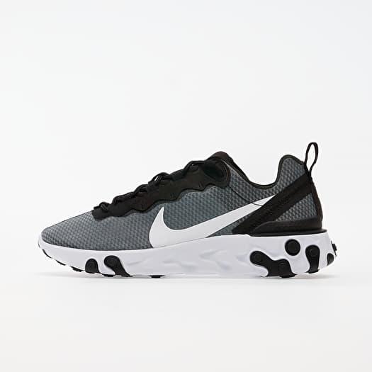 Nike React Element 55 Se Black/ White   Footshop