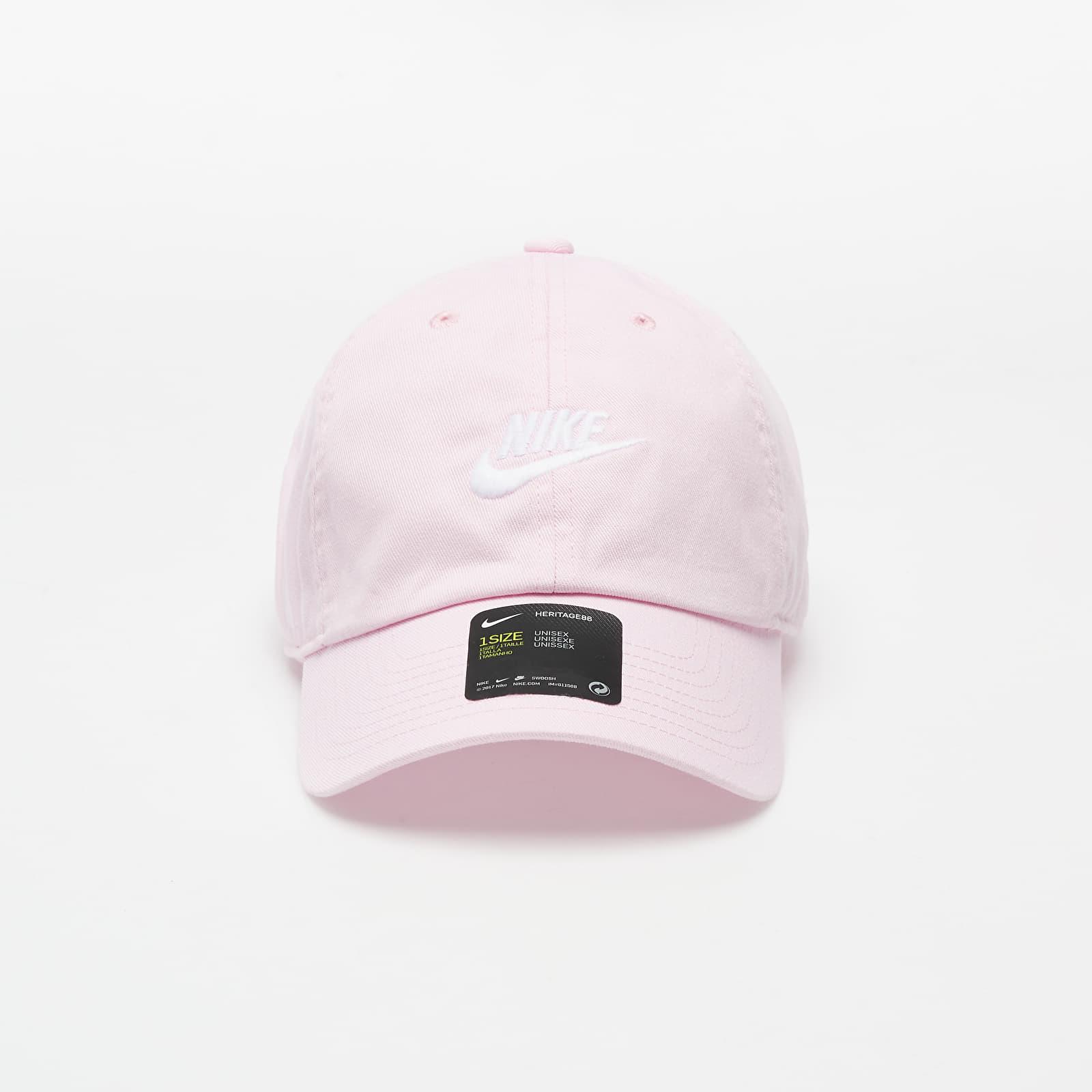 Caps Nike Sportswear H86 Futura Heritage Cap Pink Foam / White