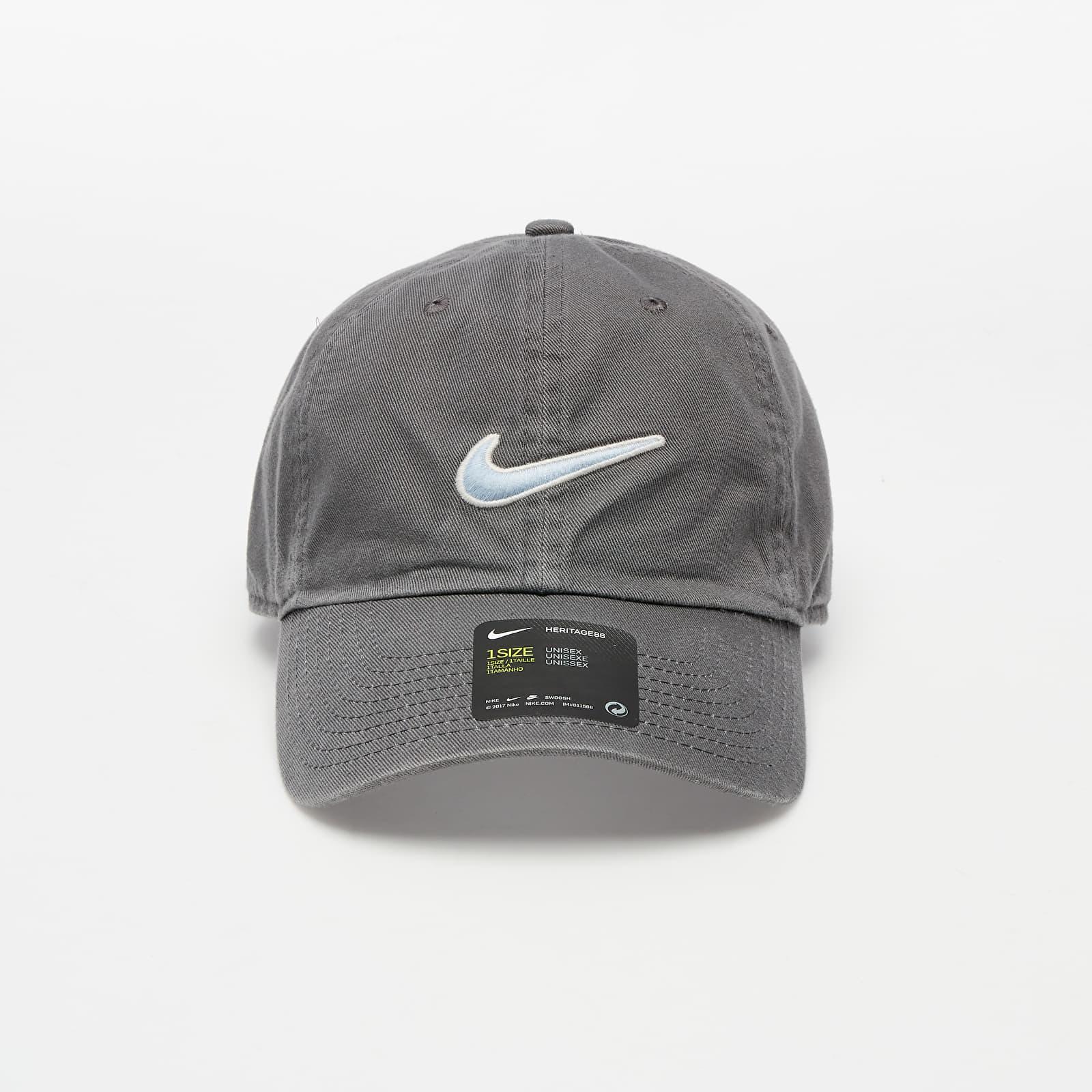 Caps Nike H86 Essential Swoosh Cap Iron Grey