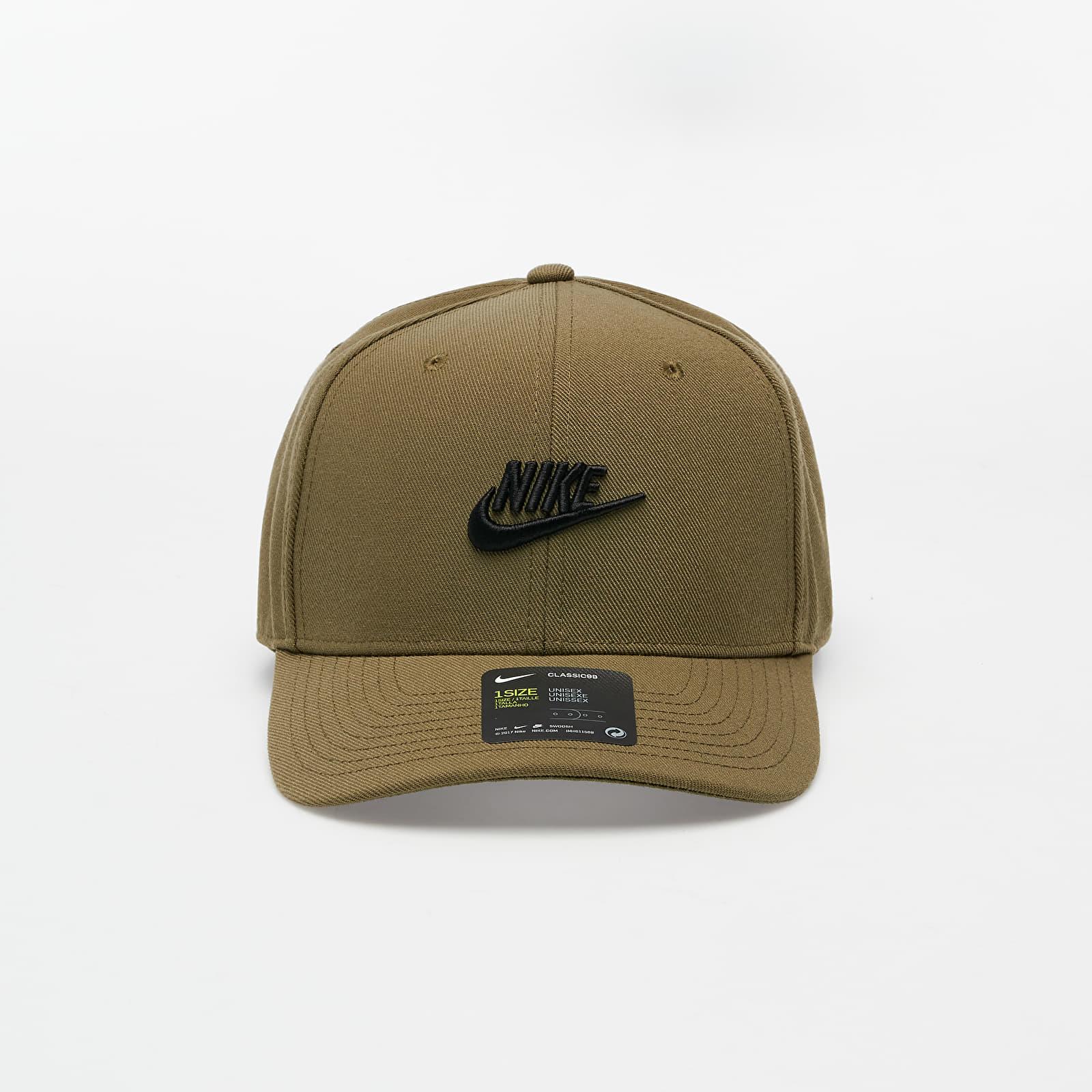 Kšiltovky Nike Sportswear CLC99 Fut Snapback Medium Olive/ Black