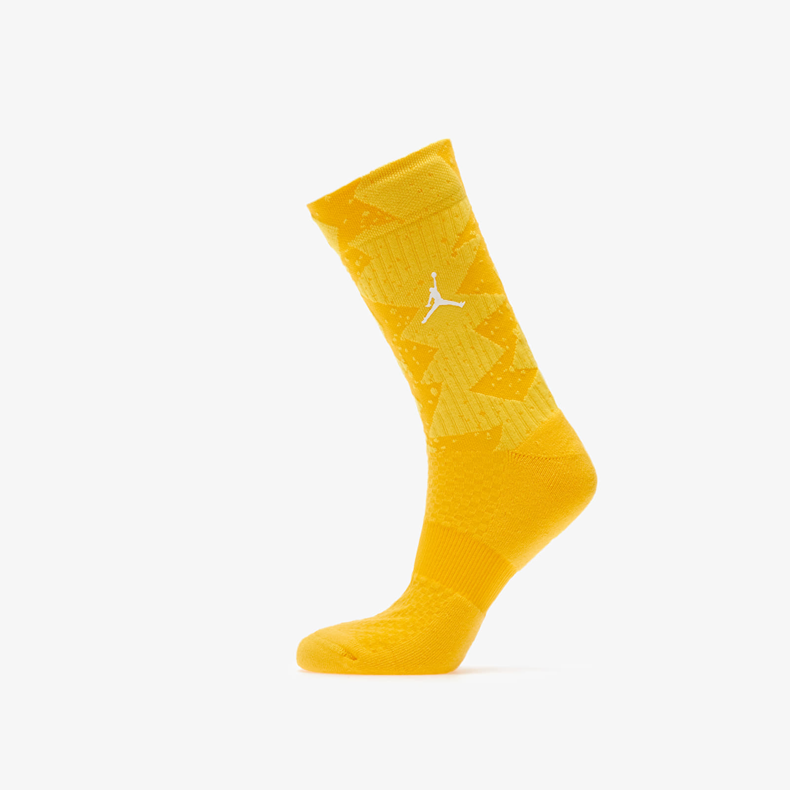 Ponožky Jordan Legacy Poolside Crew Socks 1-Pair Amarillo/ Opti Yellow/ White
