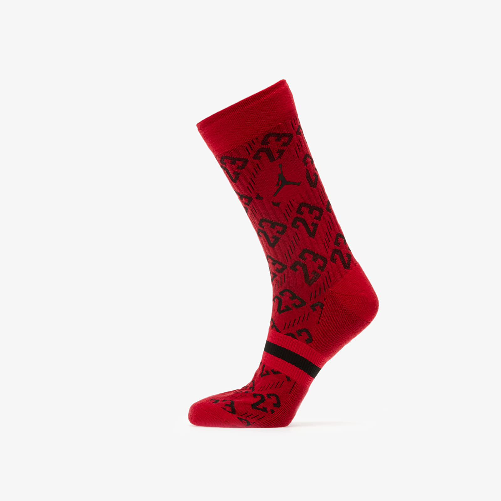 Чорапи Jordan Legacy 2 Pair AOP Crew Socks Gym Red/ Black