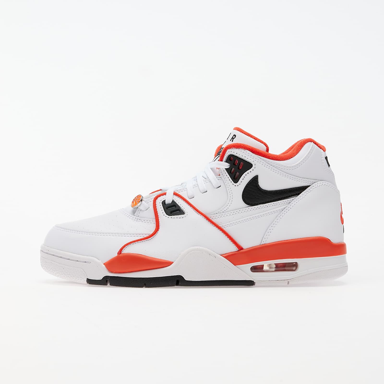 Männer Nike Air Flight 89 Emb White/ Black-Team Orange