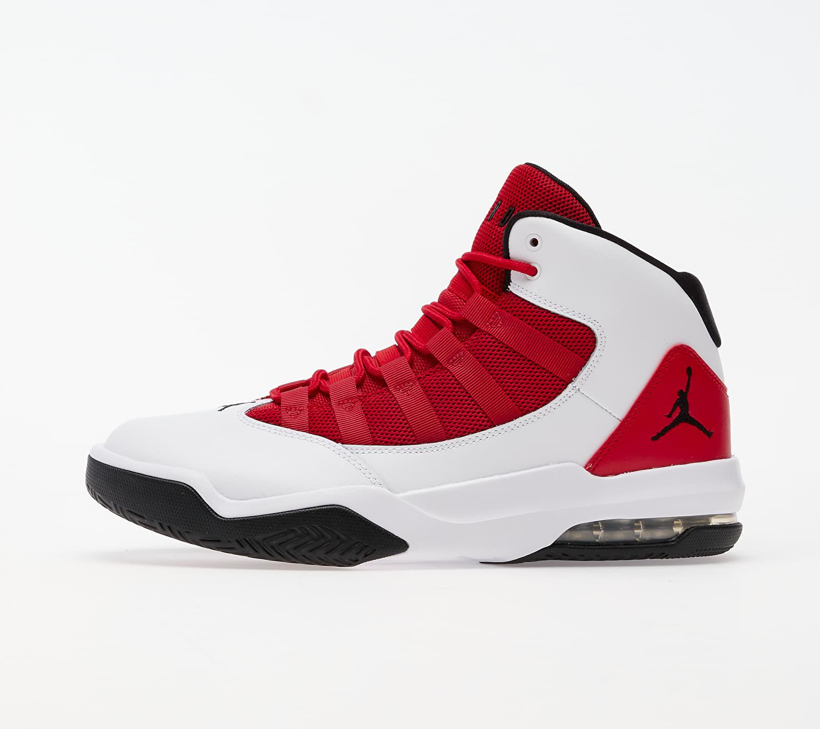 Jordan Max Aura White/ Black-Gym Red EUR 46