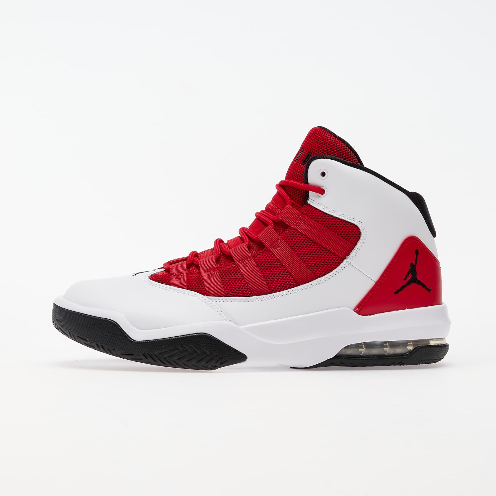 Men's shoes Jordan Max Aura White/ Black-Gym Red