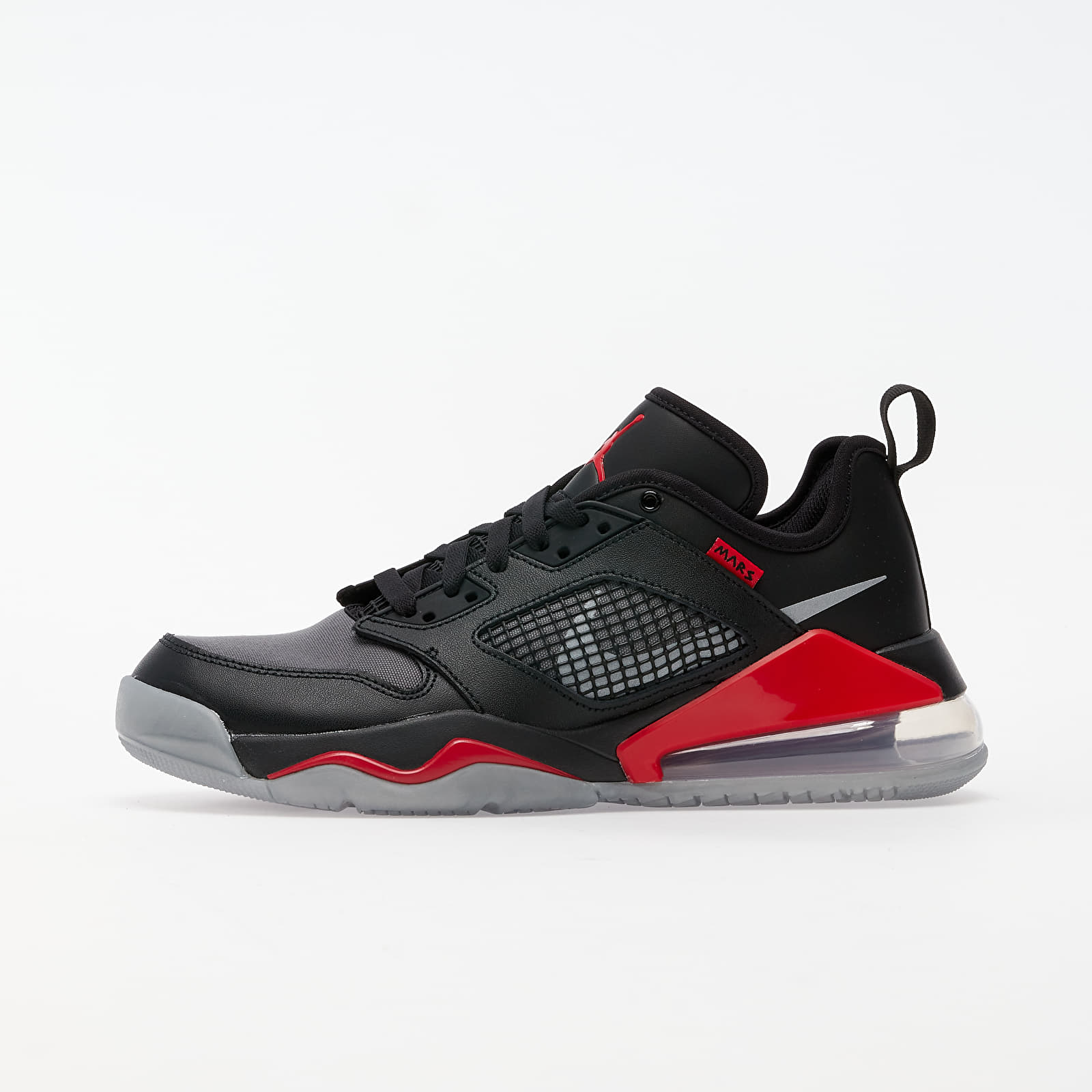 Pánské tenisky a boty Jordan Mars 270 Low Black/ Metallic Silver-University Red