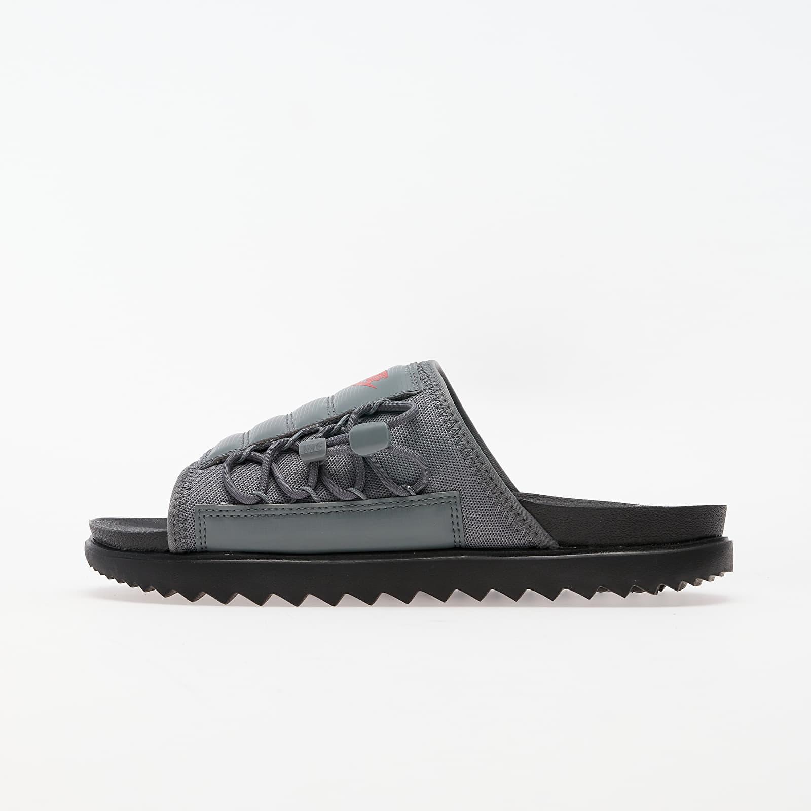 Men's shoes Nike Asuna Slide Black/ University Red-Smoke Grey