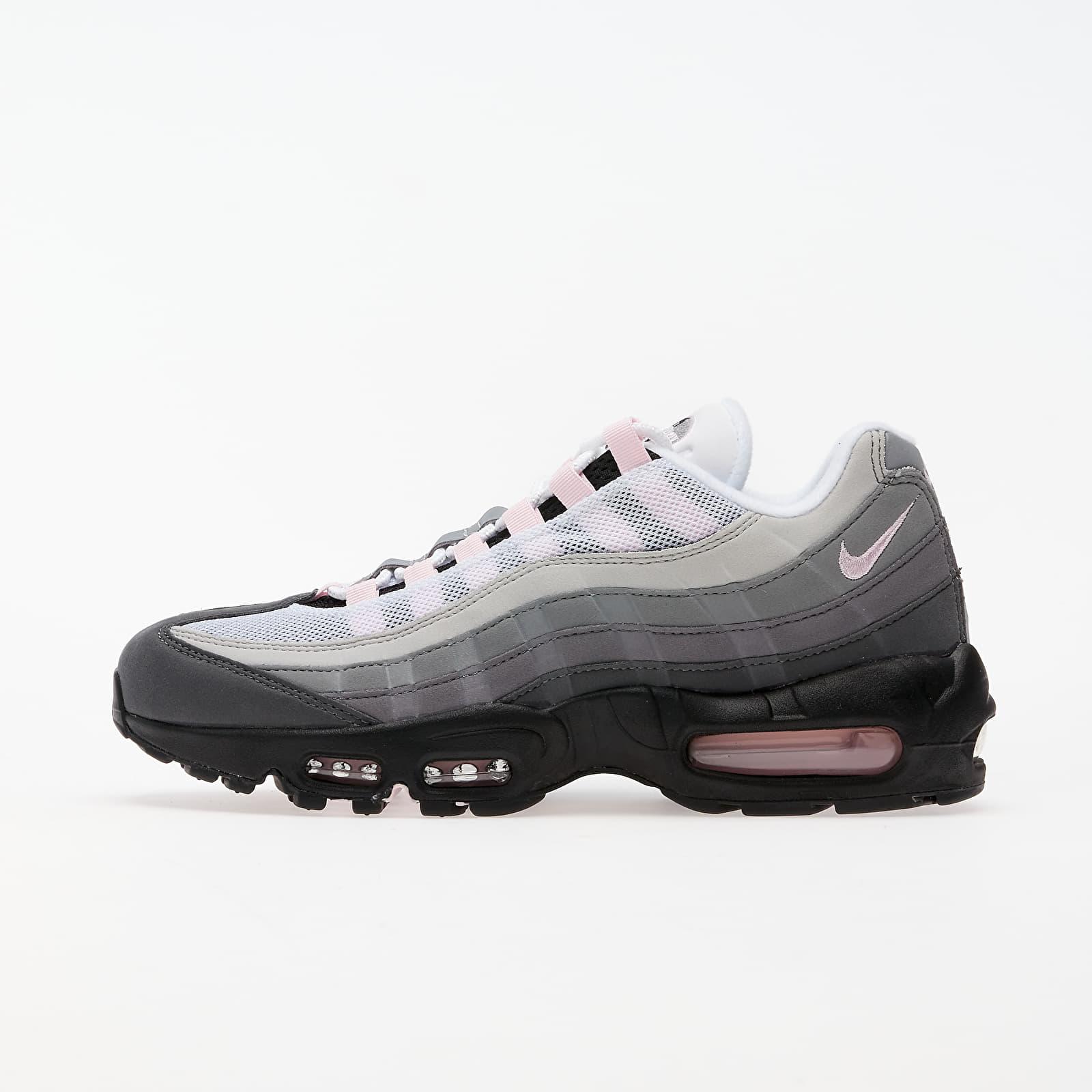 Nike Air Max 95 Premium Black/ Pink Foam -Gunsmoke-Grey Fog | Footshop