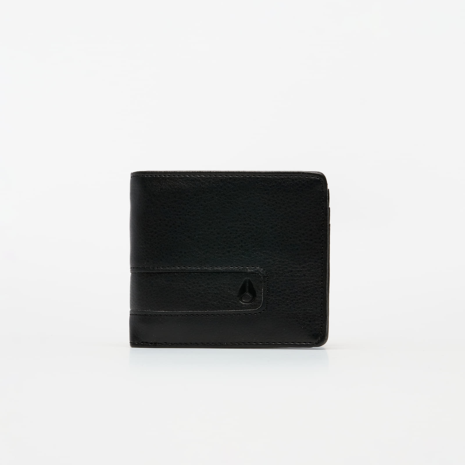 Carteras Nixon Showtime Bi-Fold ID Zip Wallet All Black