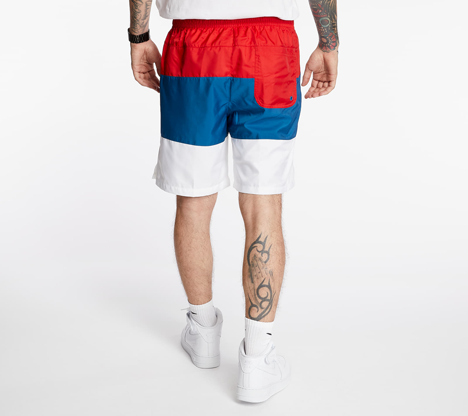 Nike Sportswear SCE Woven Nvlty Shorts University Red/ Industrial Blue/ White