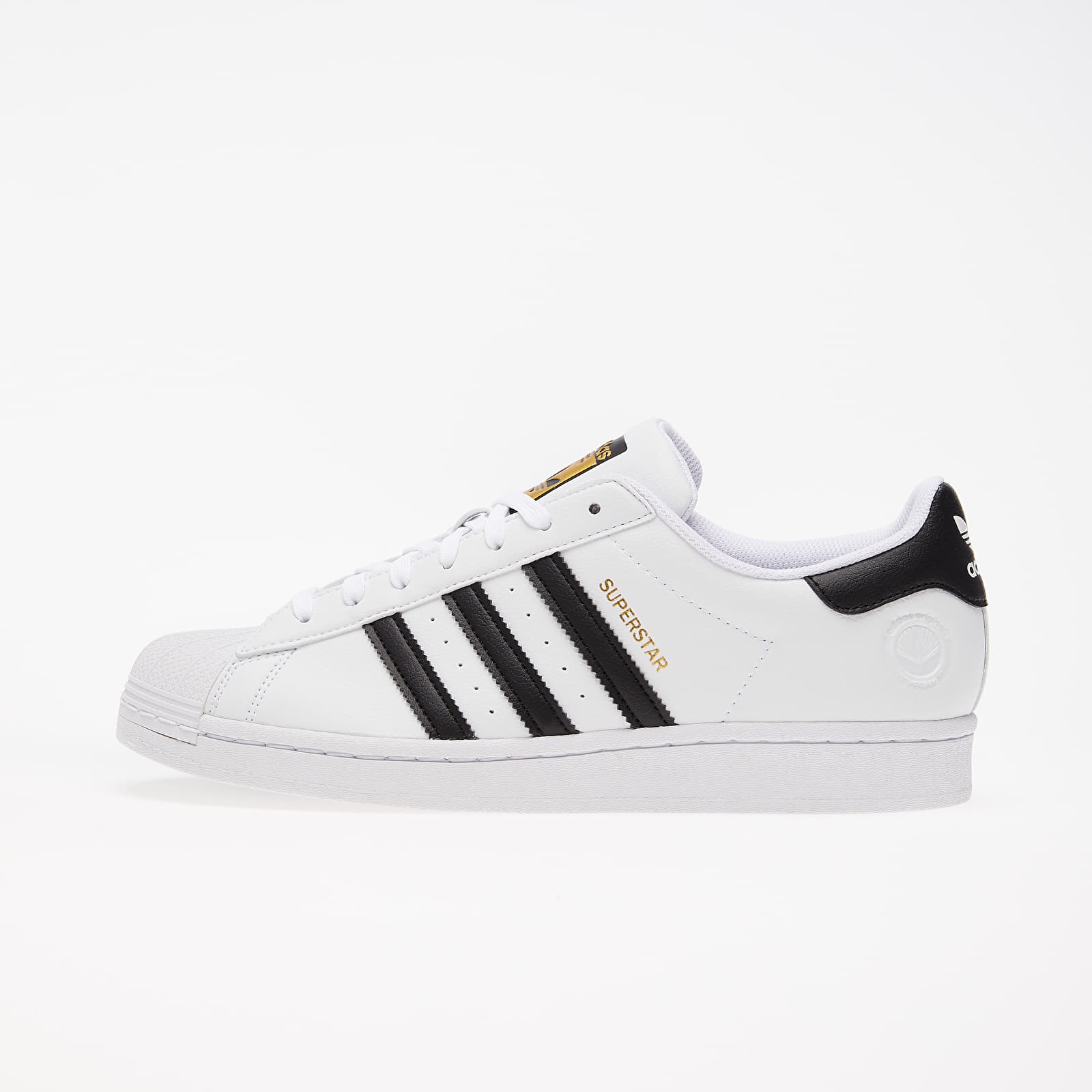Men's shoes adidas Superstar Vegan Ftw White/ Core Black/ Green