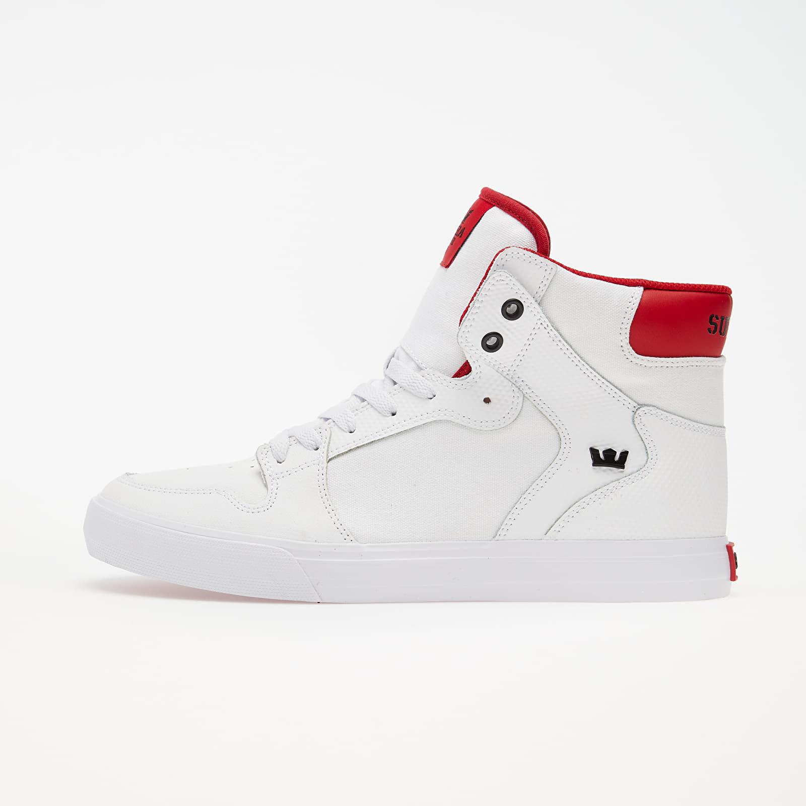 Pánské tenisky a boty Supra Vaider White/ Red-White
