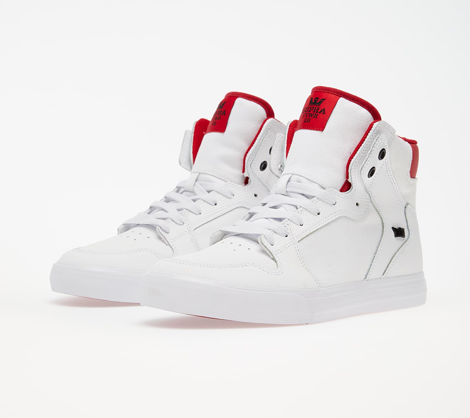 Supra Vaider White/ Red-White EUR 42.5