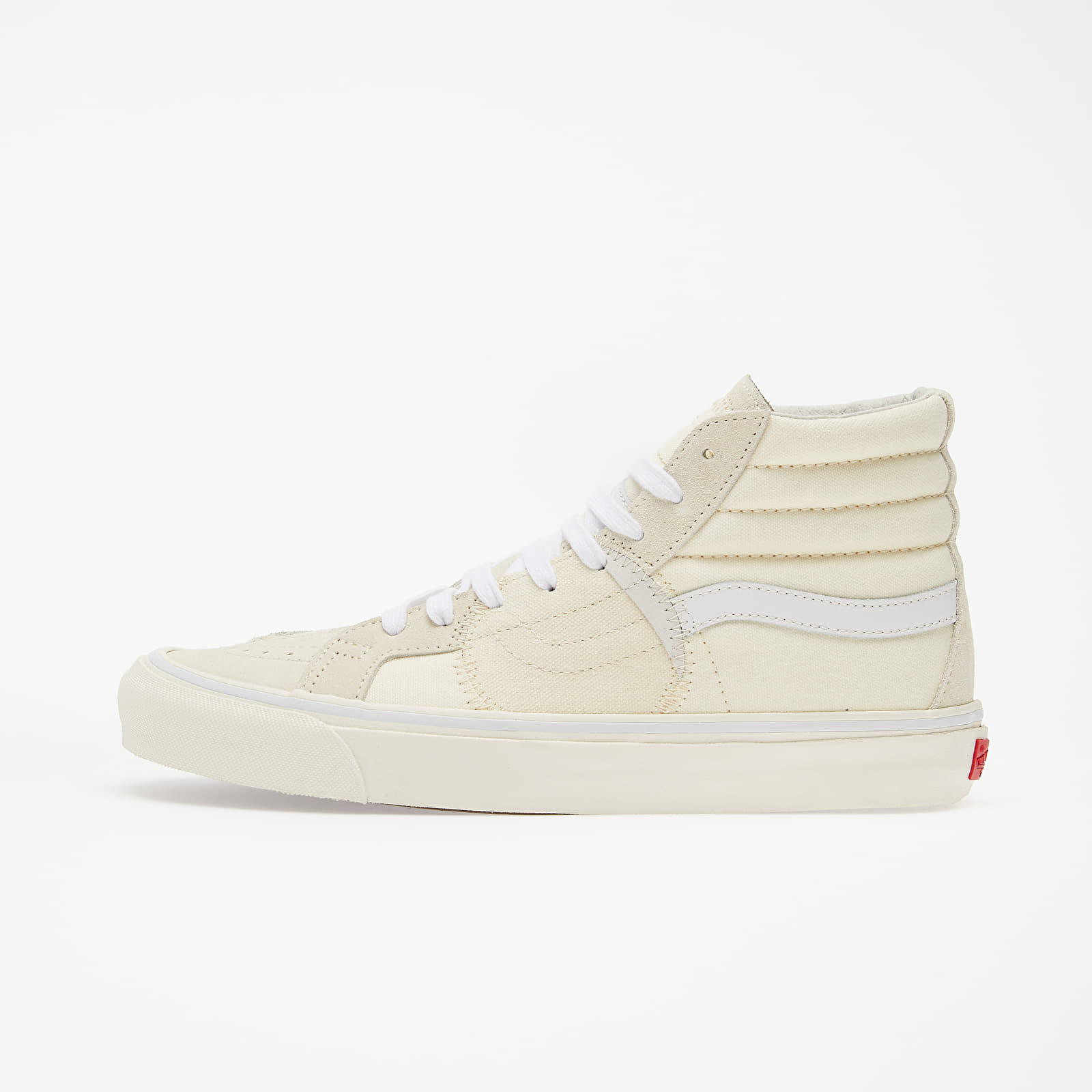 Pánske tenisky a topánky Vans SK8-Hi Bricolage LX (Vintage) Classic White/ Marshmellow