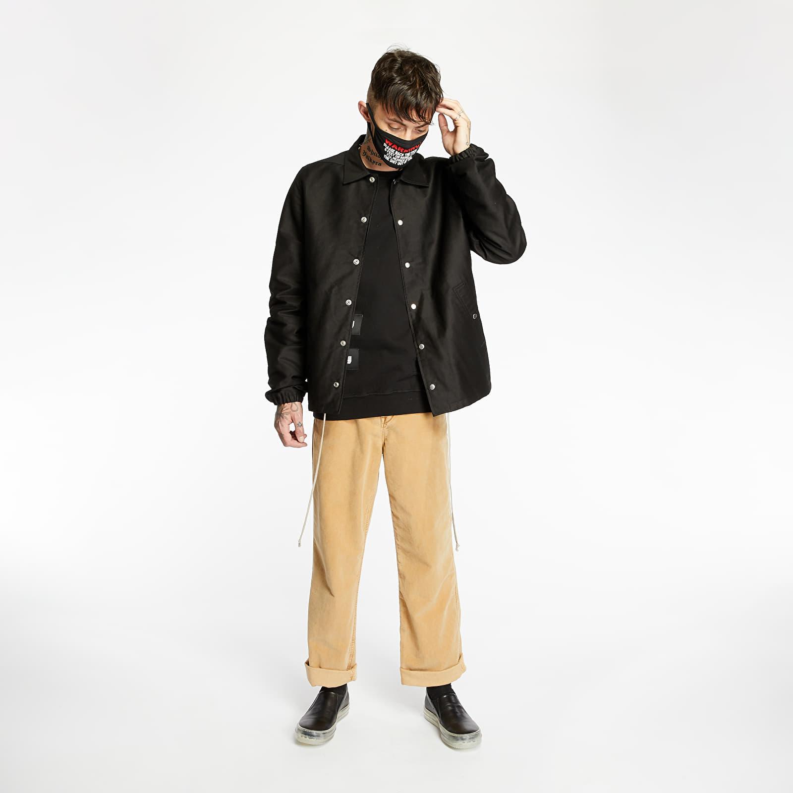 Jakne Rick Owens DRKSHDW Snap Front Jacket Black