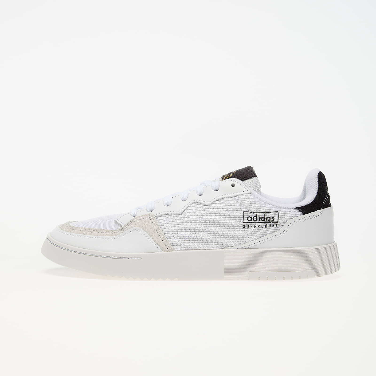 Чоловіче взуття adidas Supercourt Ftw White/ Ftw White/ Core Black