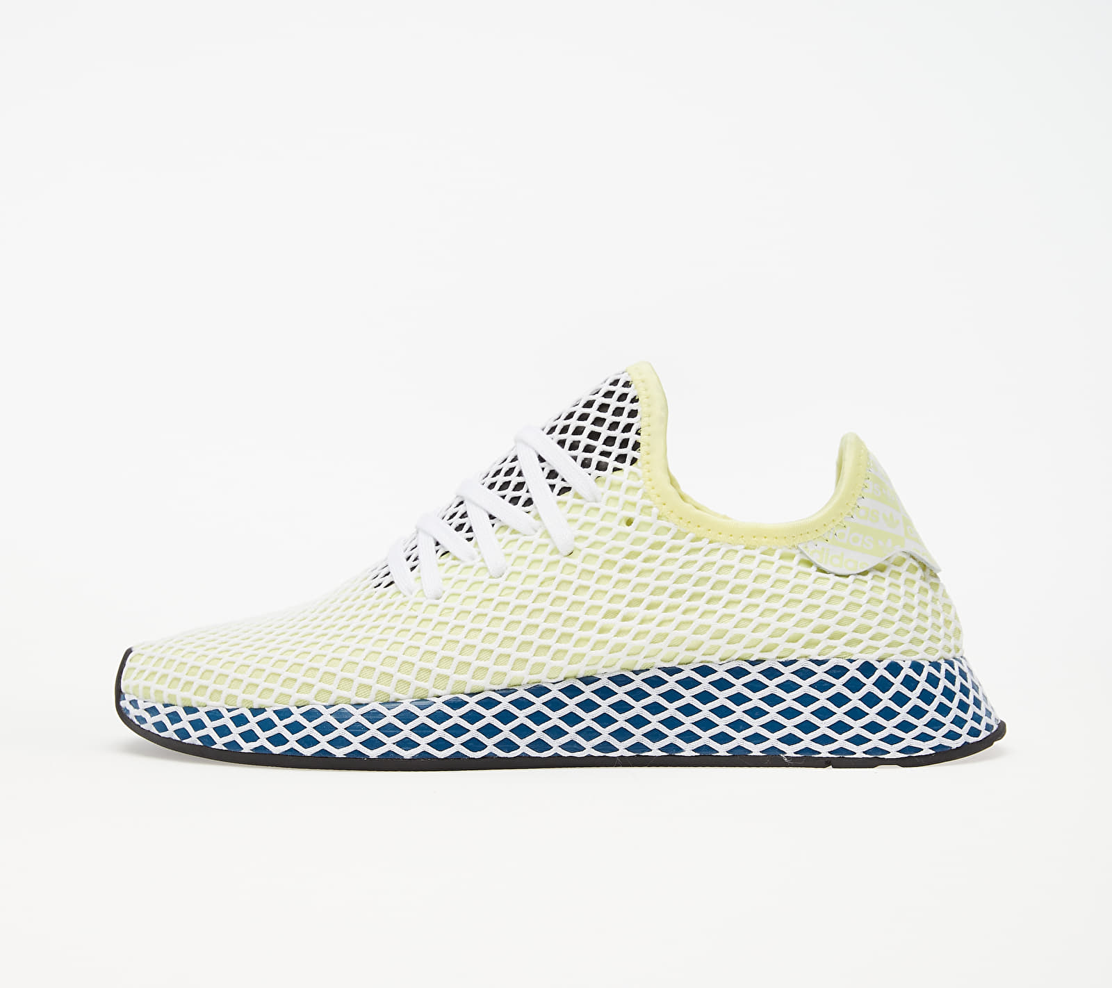 adidas Deerupt Runner Yellow Tint/ Ftw White/ Legend Marine EUR 45 1/3