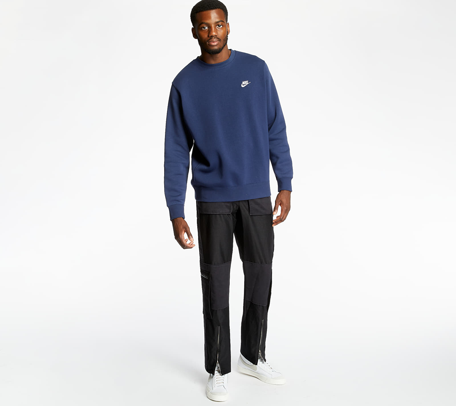 Nike Sportswear Club Crewneck Navy, Blue