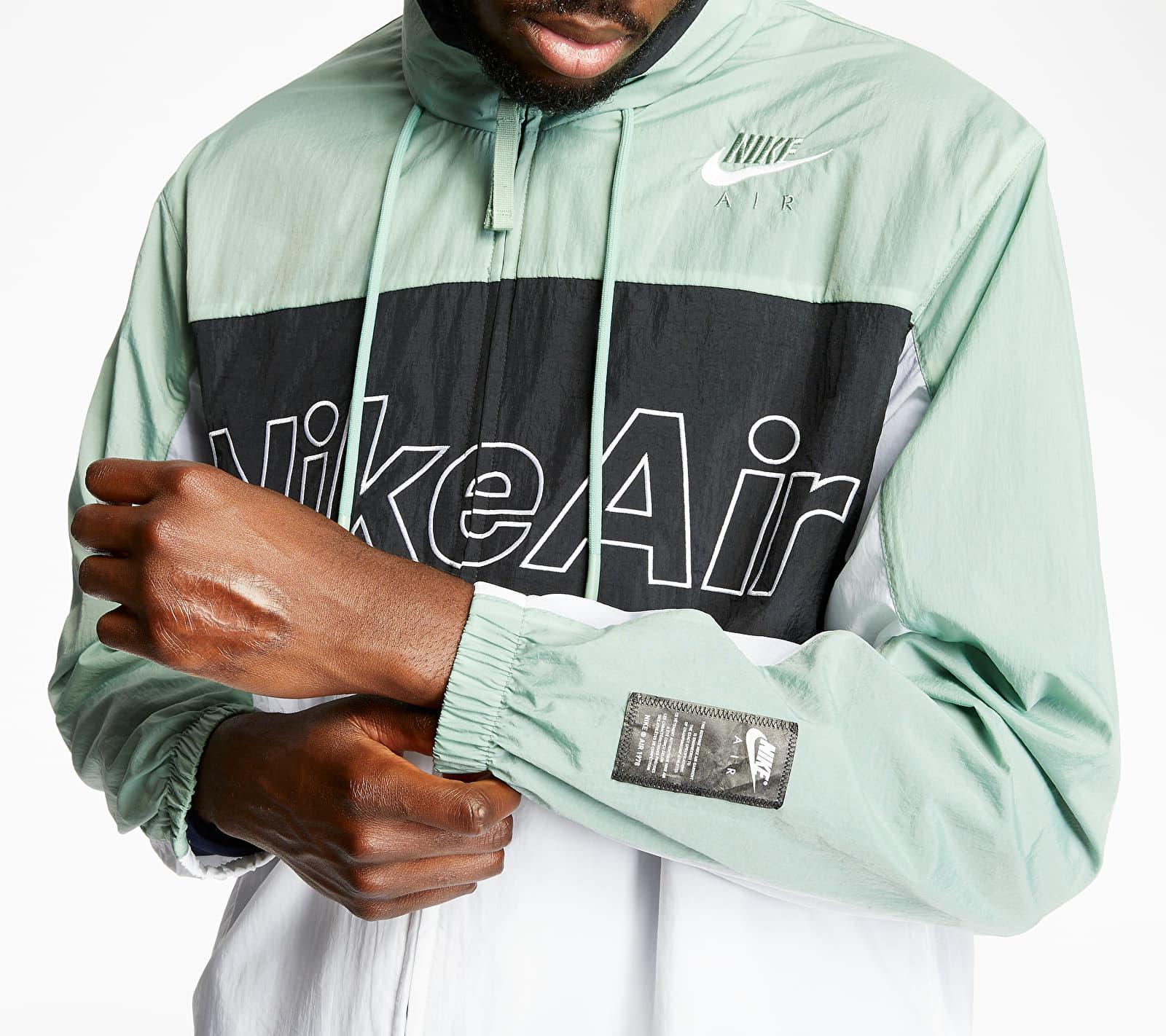 Nike Sportswear Nike Air Woven Hooded Jacket Silver Pine/ Black/ White, Gray