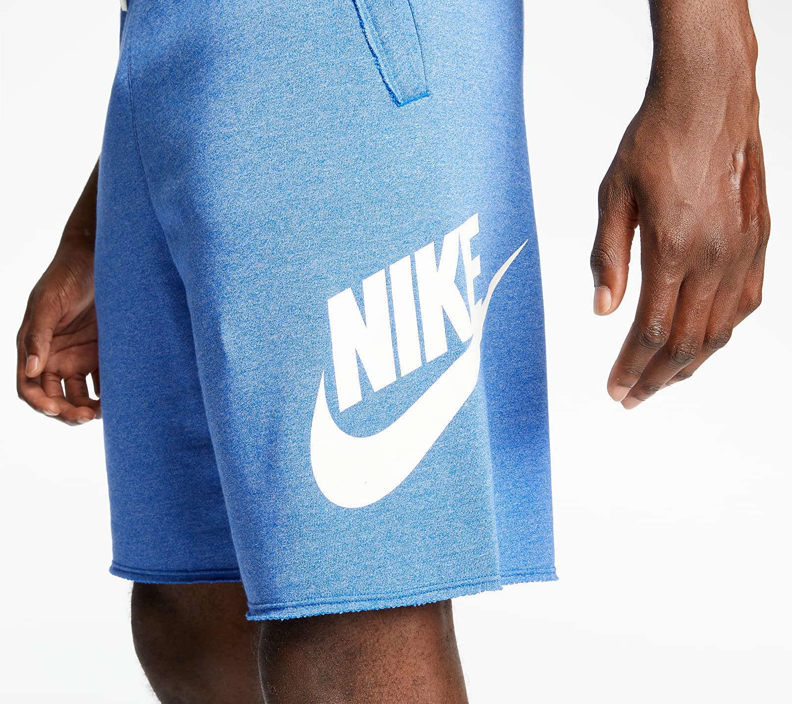 Nike Sportswear SCE Ft Alumni Shorts Game Royal/ Htr/ Sail/ Sail, Blue