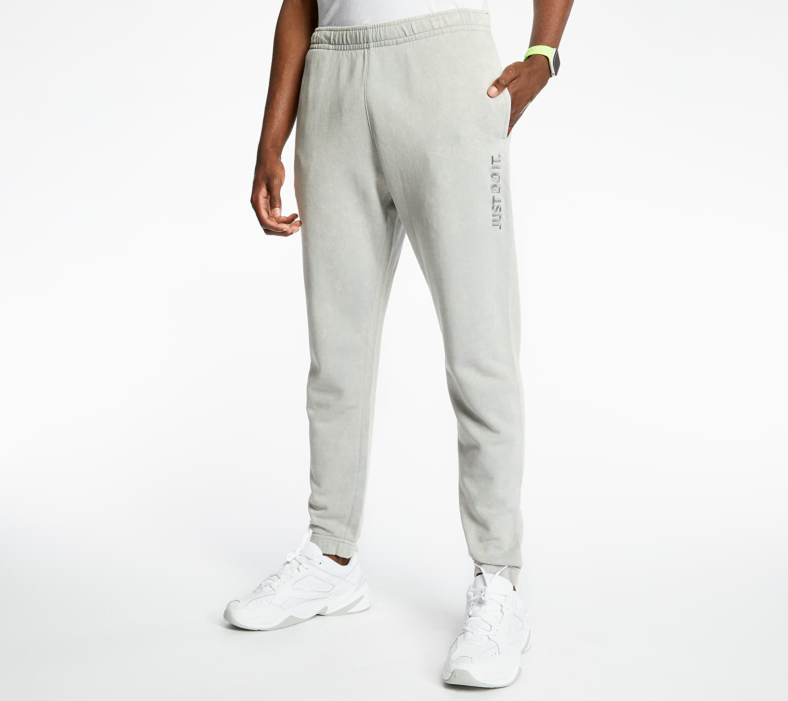 Nike Sportswear Just Do It Wash Pants Lt Smoke Grey/ Lt Smoke Grey, Gray