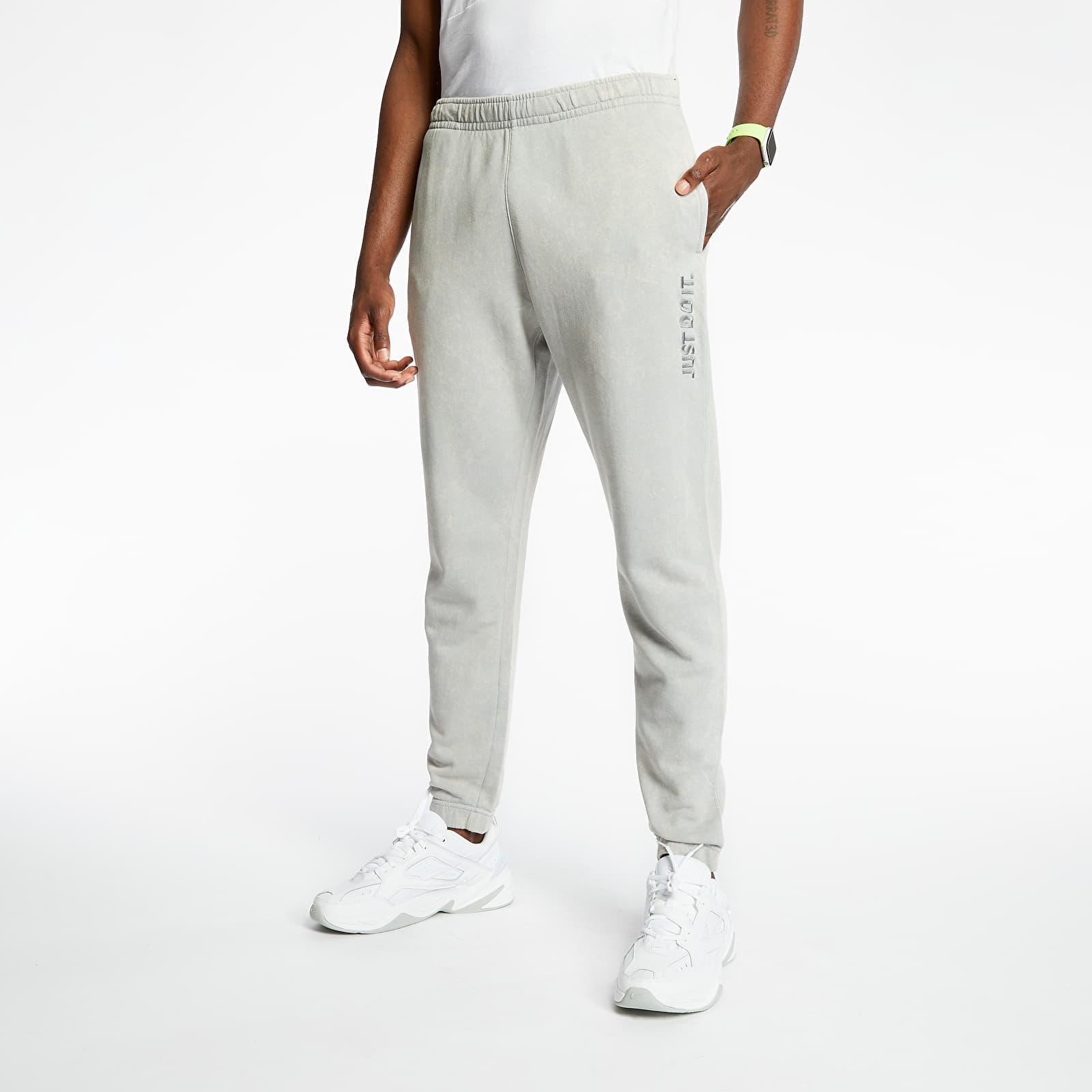 Pants and jeans Nike Sportswear Just Do It Wash Pants Lt Smoke Grey/ Lt Smoke Grey
