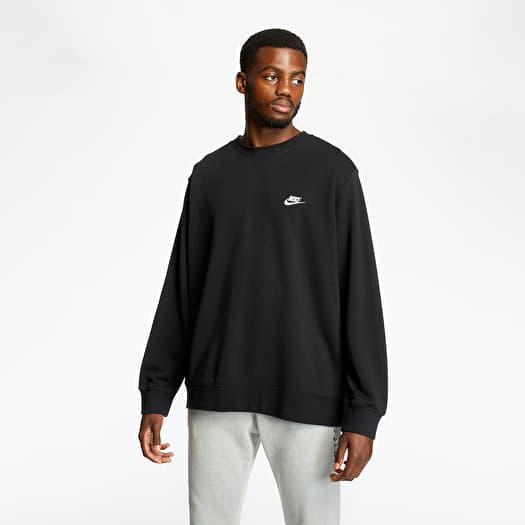 Mata Diez Pequeño  Sweatshirts Nike Sportswear Club Crewneck Black   Footshop